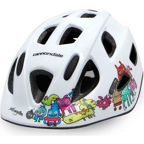 Cannondale Burgerman Colab Helmet Kids white